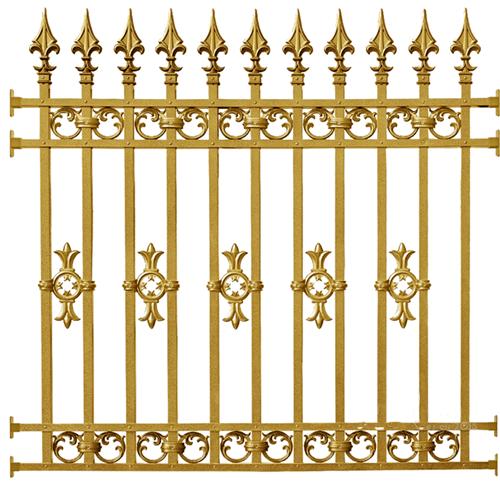 hàng rào nhôm đúc mẫu HR -028